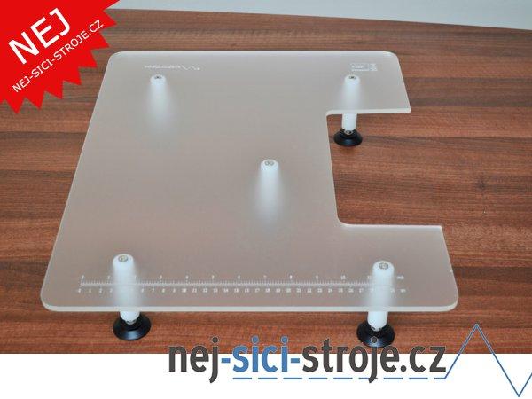 Velký rozšiřující stolek pro overlock Brother - BR04