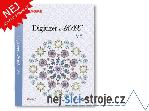 Janome digitizer MBX ver. 5.0 Profi Corel + DÁREK