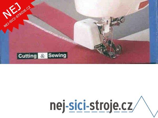 Příslušenství Janome - patka overlocková s ořezem materiálu