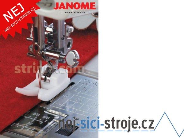 Příslušenství Janome - teflonová patka (rotační chapač)