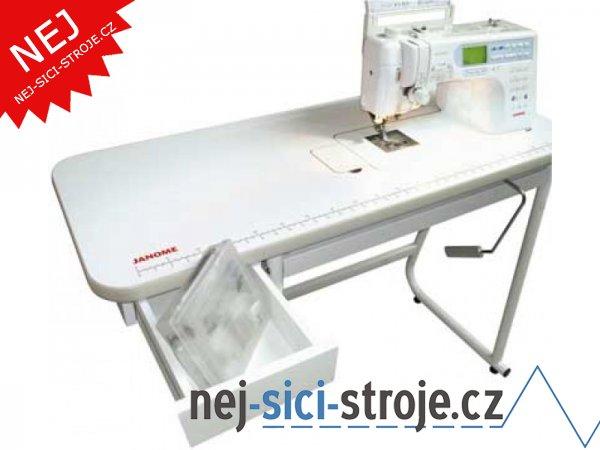 Speciální velký stůl pro šicí stroje Janome + DÁREK