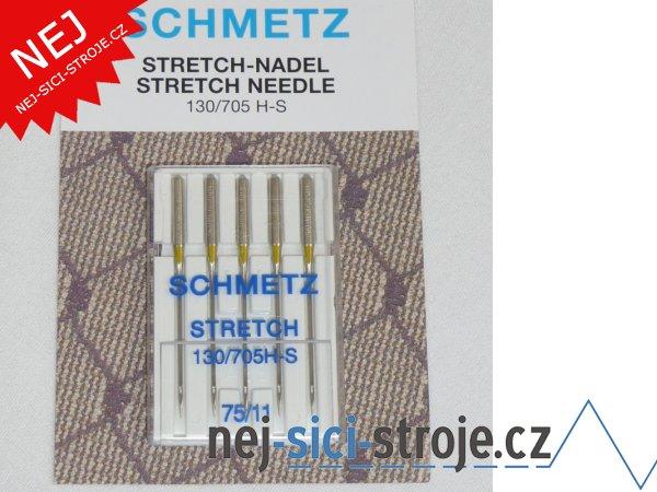 Jehly pro šicí stroje - STRETCH č.75
