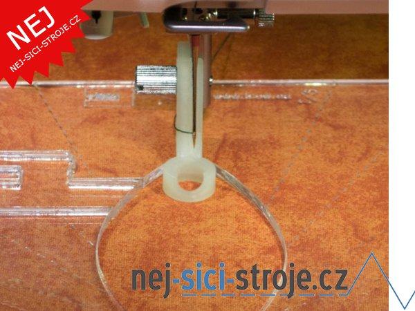 Příslušenství - Quiltovací patka pro pravítka, velikost XL