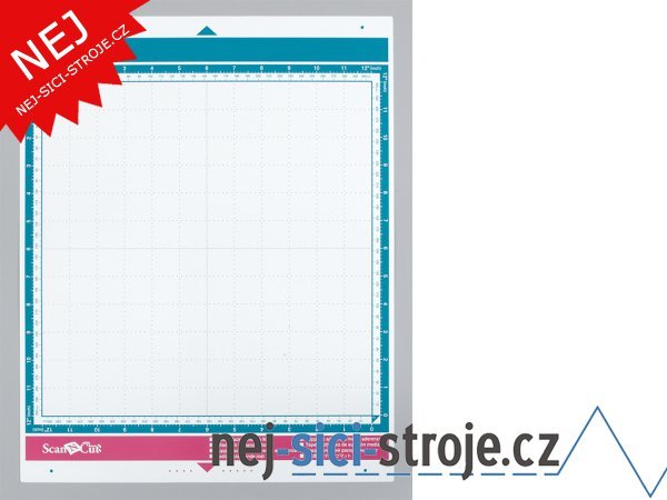 Příslušenství pro plotry - Středně lepící podložka 12x12 palců, ScanNCut
