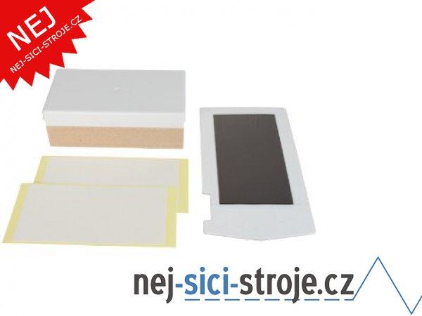 MINT - KIT materiál pro razítka 15 x 15 mm se základnou