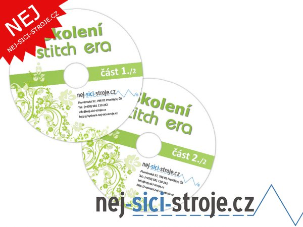 ERA STITCH - videonávod - 2 DVD
