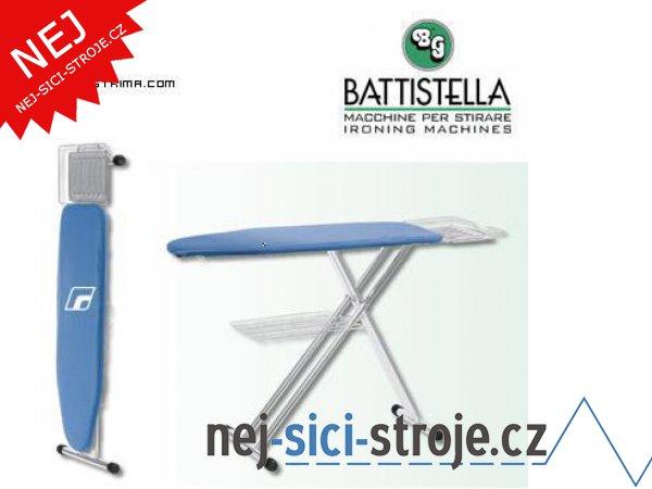 Kvalitní žehlící prkno BATTISTELLA TECNOSTIR MAXI CHROM