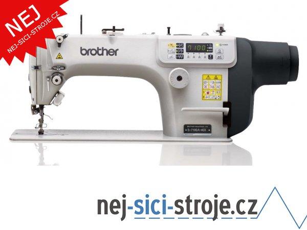 Průmyslový šicí stroj Brother S-7100A-403 + DÁREK