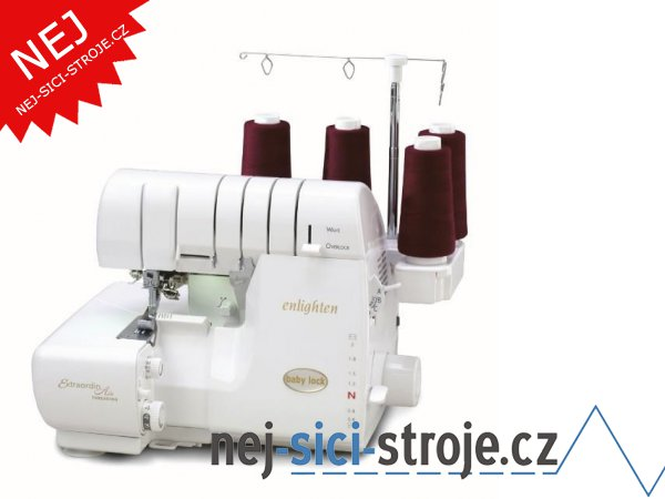 Babylock Enlighten BLE3ATW-2 - overlock + DÁREK