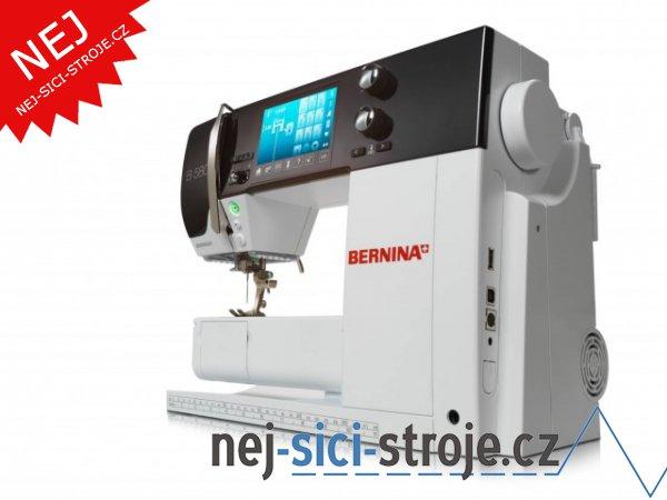 Šicí a vyšívací stroj Bernina 580 + DÁREK