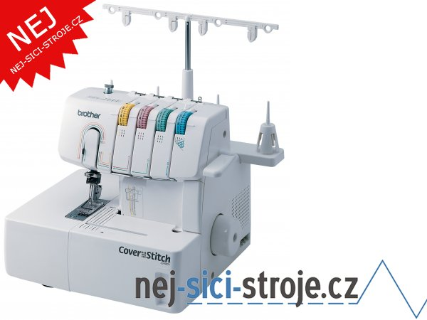 Coverlock Brother 2340 CV + DÁREK