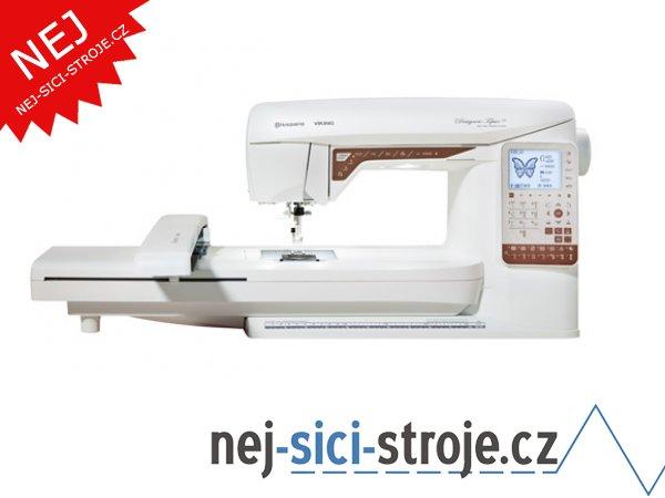 Šicí a vyšívací stroj Husqvarna Designer Topaz 25 + DÁREK