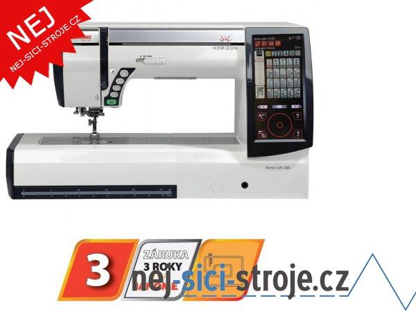Šicí a vyšívací stroj Janome MC 12000 HORIZON + DÁREK