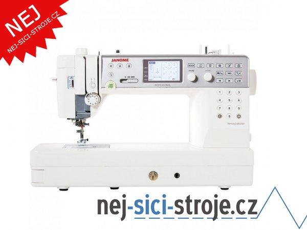 Šicí stroj Janome MC 6700 Professional + DÁREK