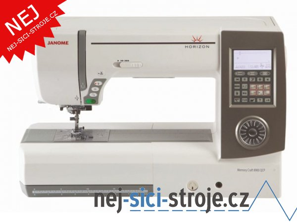 Šicí stroj Janome Horizon MC 8900 QCP SE + DÁREK