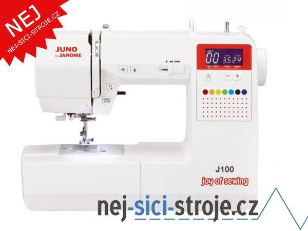 Šicí stroj Janome Juno J100 + DÁREK
