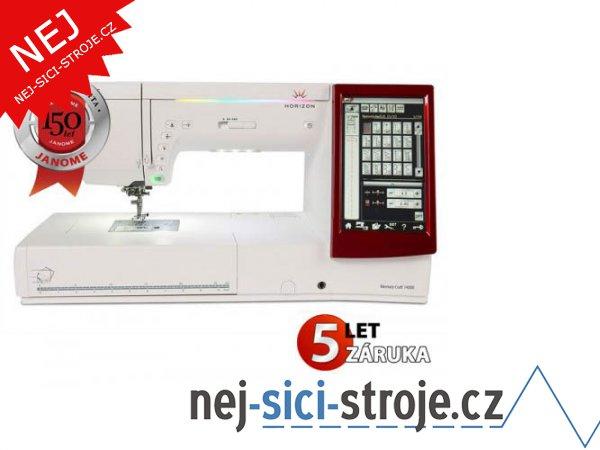 Šicí a vyšívací stroj Janome MEMORY CRAFT 14000 + DÁREK