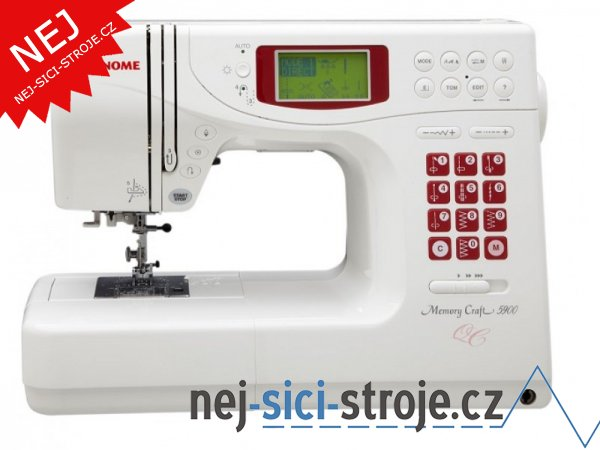 Šicí stroj Janome Memory Craft 5900 + DÁREK