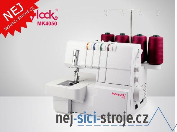 Coverlock Merrylock MK 4050 + DÁREK