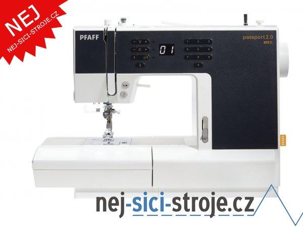 Šicí stroj Pfaff PASSPORT 2.0 + DÁREK