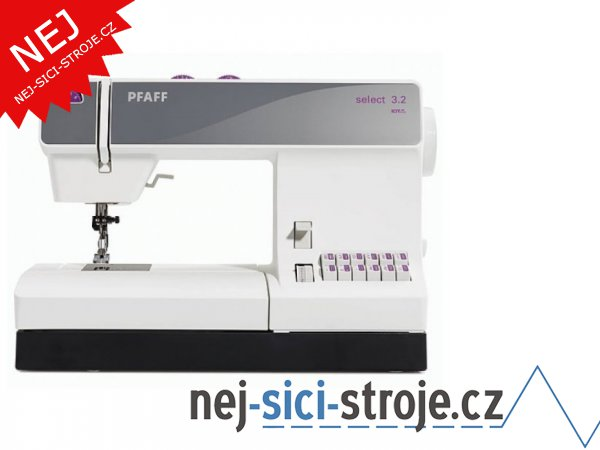 Šicí stroj Pfaff SELECT 3.2 + DÁREK