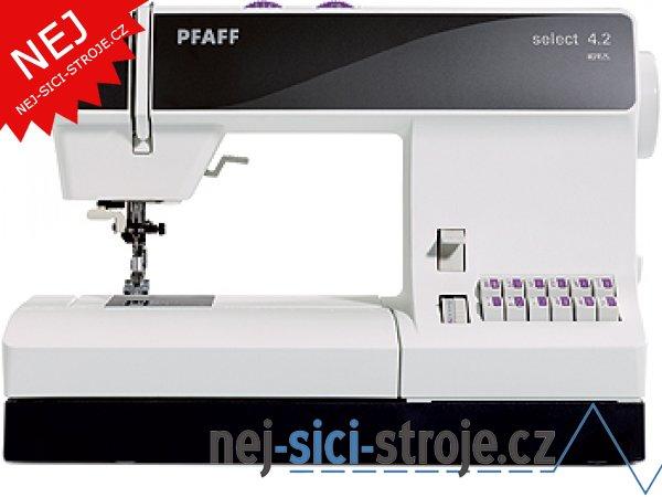 Šicí stroj Pfaff SELECT 4.2 + DÁREK