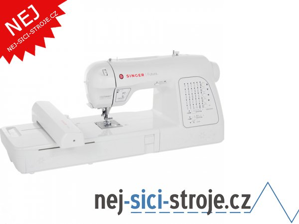 Šicí a vyšívací stroj Singer Futura XL 420 + DÁREK