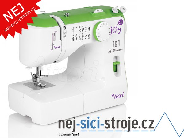 Šicí stroj TEXI JOY 1303 Green