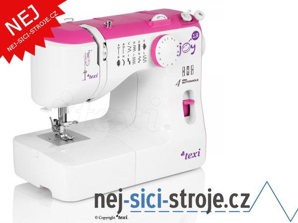 Šicí stroj TEXI JOY 1301 Pink