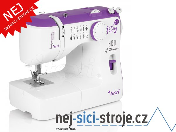 Šicí stroj TEXI JOY 1302 Violet