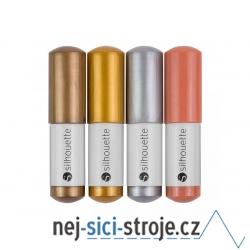 Příslušenství pro plotry - Sketch pen 4ks metalické barvy