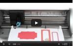 video návod ukázka Řezací plotr - Silhouette Portrait