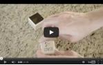 video návod ukázka ČERNÝ tekutý inkoust pro razítka MINT
