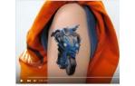 video návod ukázka Příslušenství pro plotry - Tetovací potisknutelný papír
