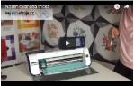 video návod ukázka Řezací plotr Brother ScanNCut CM 700