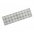 Patchworkové pravítko - 15x50cm