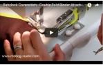 video návod ukázka Příslušenství Babylock - Aplikátor šikmého proužku na dvojito 48 mm (BLCS)