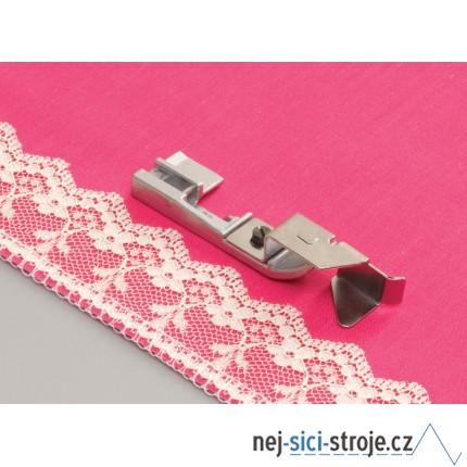 Příslušenství Babylock - Patka pro našívání krajky (overlocky)