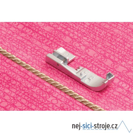 Příslušenství Babylock - Patka pro všívání dutinek a lampasů 3 mm (overlocky)