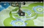 video návod ukázka příslušenství Bernina - quiltovací patka pro pravítka č. 72