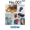 Příslušenství Brother - vyšívací vzory  - 3D motivy