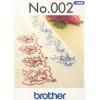 Příslušenství Brother - vyšívací vzory - Orientální bordury