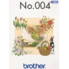 Příslušenství Brother - vyšívací vzory - Jarní kolekce