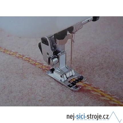 Příslušenství - kordovací patka pro šití 1-5 ozdobných provázků univerzální