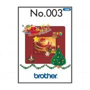 Příslušenství Brother - vyšívací vzory - Zimní kolekce