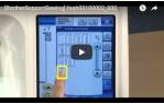 video návod ukázka Příslušenství Brother - patka pro couching V5, V7