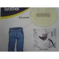 Příslušenství Brother - coverlock - zakladač pro šití poutek