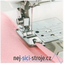 Příslušenství Bernette - obrubovací patka pro šití úzkého lemu (7mm)