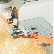 Příslušenství Bernette - zakladač pro lemování páskou (šikmého proužku)