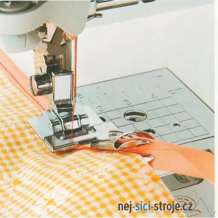 Příslušenství - zakladač pro lemování páskou (šikmého proužku)